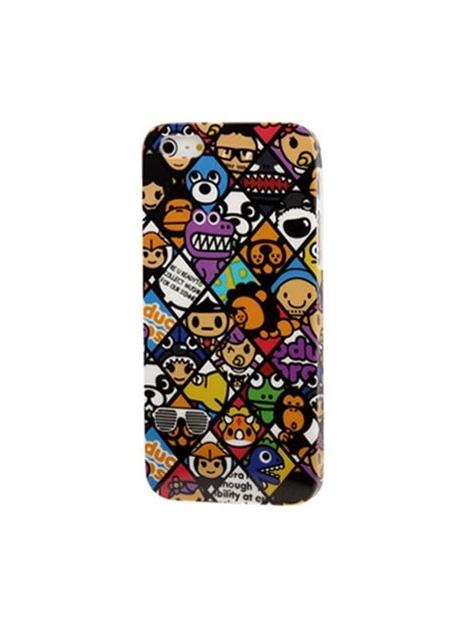 Chocoolate ochranný plastový kryt pre iPhone 5 & 5S