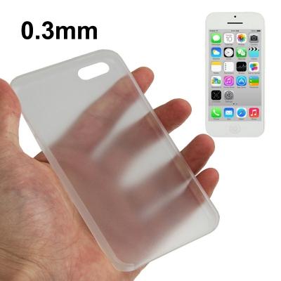 iPhone 5C - Ultra tenké dymové plastové ochranné púzdro