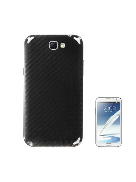 Samsung Galaxy Note 2 Carbon Skin karbonová - samolepiaca fólia