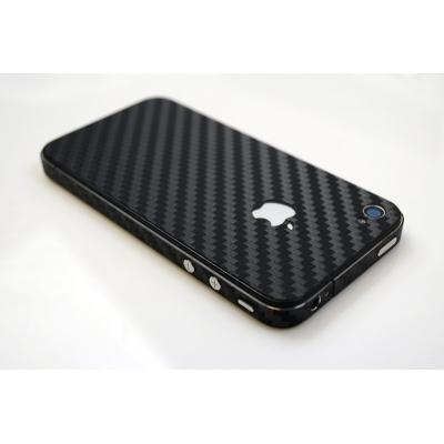 iPhone 4/4S iCover Carbon Skin karbonová samolepiaca fólia