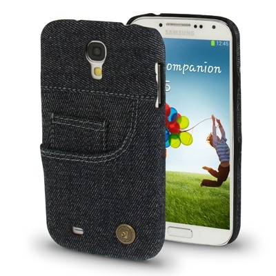 Samsung Galaxy S4 Denim Blue Jeans Case