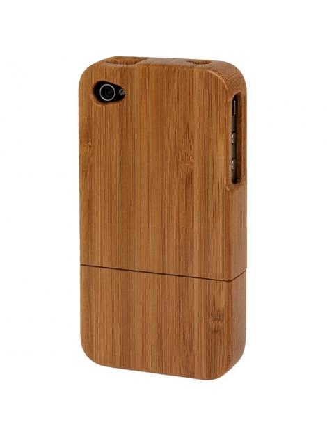 Wood case iPhone 4 / 4S  - drevený dvojdielny obal