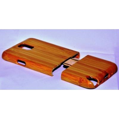 Galaxy Note 3 kvalitný drevený bambusový obal