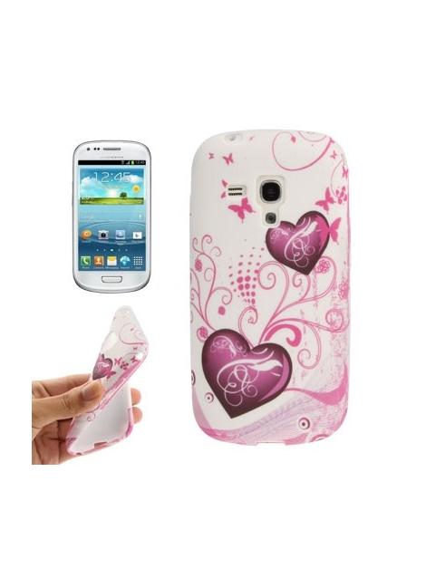 Samsung Galaxy SIII mini / i8190 - Flexi púzdro motýle