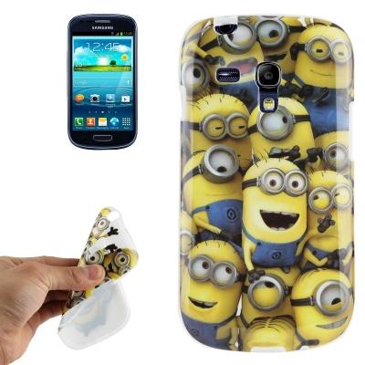 Mimoni - Samsung Galaxy SIII mini / i8190 - Flexi púzdro Mimoni