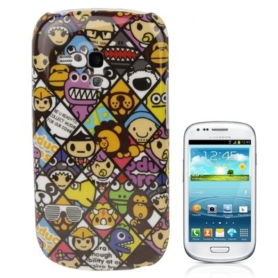 Ksichtíky - Samsung Galaxy SIII mini / i8190 - Ochranný kryt