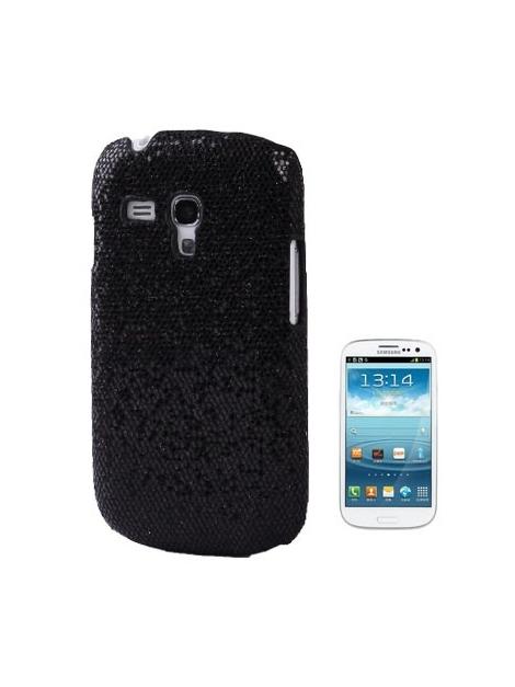 Trblietavé púzdro Samsung Galaxy SIII mini / i8190 Ochranný kryt čierny