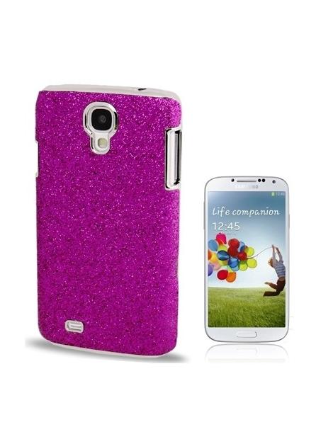 Trblietavý kryt pre Samsung Galaxy S4 purple