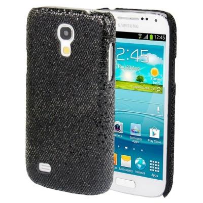 Ochranný trblietavý kryt Samsung Galaxy S4 mini / i9190 - čierny