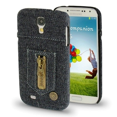 Samsung Galaxy S4 Blue Denim Jeans Case New York