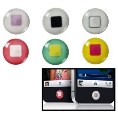 Home button stickers - Farebné štvorčeky
