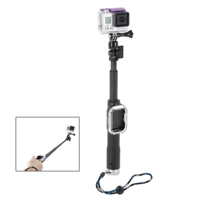 Teleskopická tyč s držiakom na dialkové ovládanie - vhodná pre GoPro