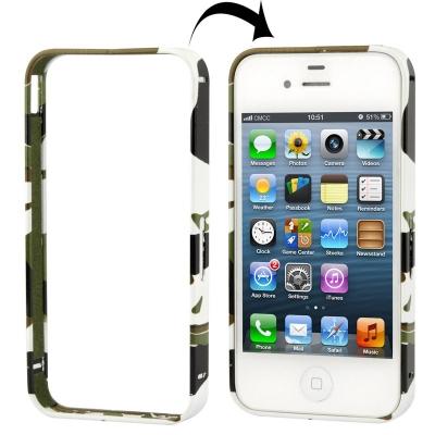 Bumper kamufláž pre tvoj iPhone4/4S