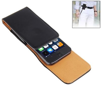 Kožené púzdro na opasok pre iPhone 5/5S/5C/4S/4/3GS