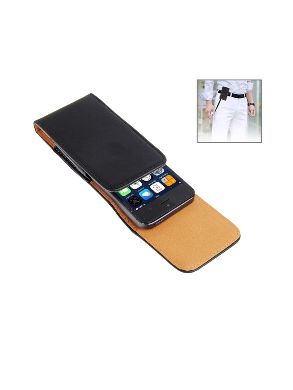 Kožené púzdro na opasok pre iPhone 5 5S 5C 4S 4 3GS  2366a5da76e