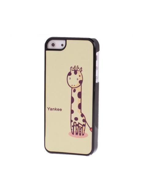 Kreslený kryt pre iPhone 5 & 5S - giraffe