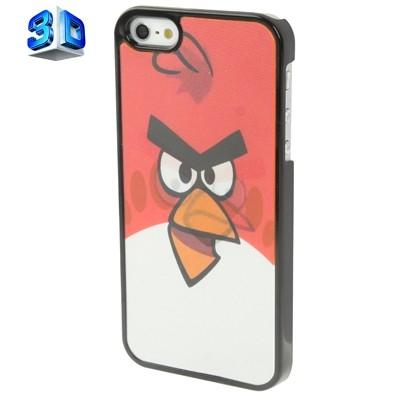 Kryt pre iPhone 5 & 5S - angry birds s 3D efektom