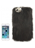 Yeti chlpatý kryt  pre iPhone 5/5S- black
