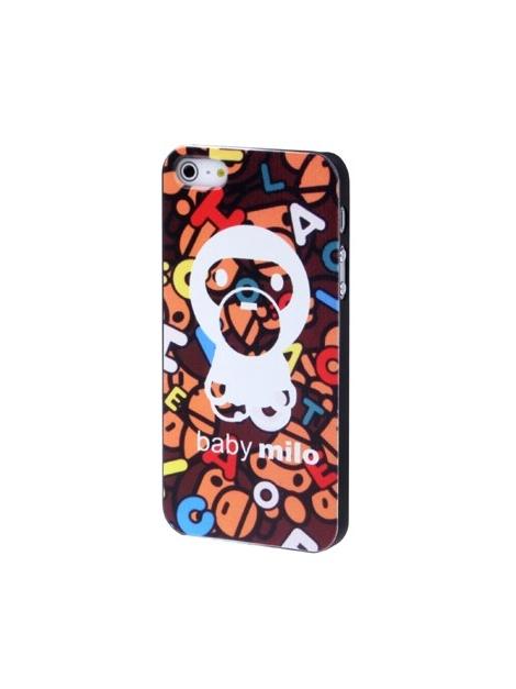 Baby Milo kryt pre iPhone 5 & 5S -brown