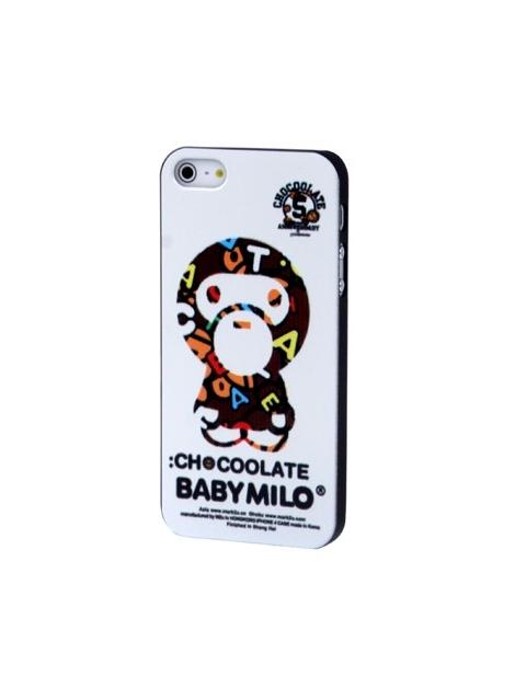 Baby Milo kryt pre iPhone 5 & 5S -white
