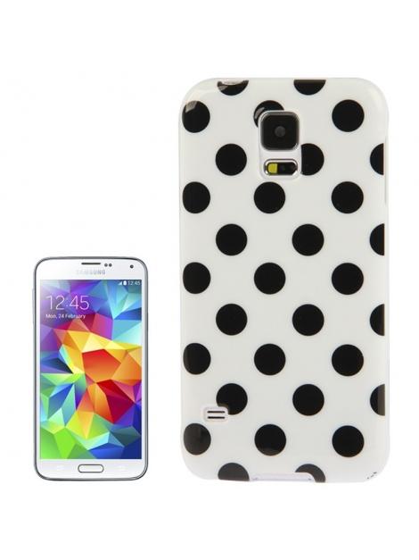 Dots Case Galaxy S5 - Ochranný kryt pre Samsung Galaxy S5 Black & White