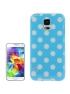 Dots Case Galaxy S5 - Ochranný kryt pre Samsung Galaxy S5 Blue & White