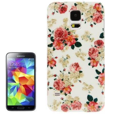 Ochranný kryt pre Samsung Galaxy S5- flowers