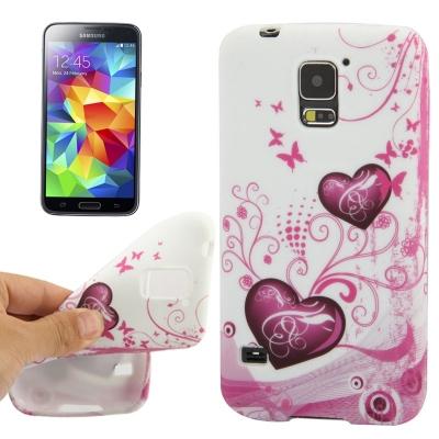 Ochranný kryt pre Samsung Galaxy S5- hearts