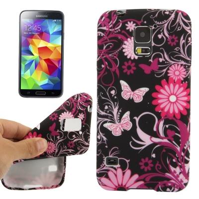 Ochranný kryt pre Samsung Galaxy S5 - butterfly