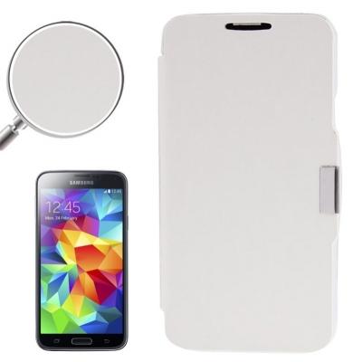 Samsung Galaxy S5- Módne diárové ochranné púzdro- biele