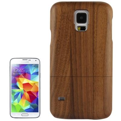 Kvalitný drevený kryt pre Samsung Galaxy S5- ružové drevo