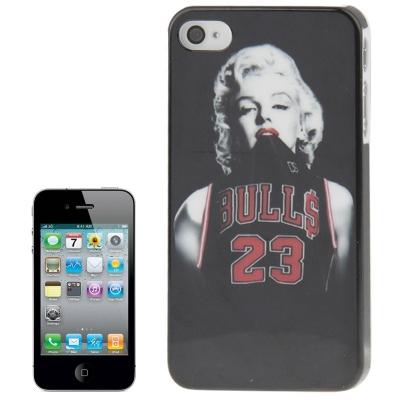 Štýlové ochranné púzdro pre iPhone 4 & 4S polo shirt Marilyn Monroe