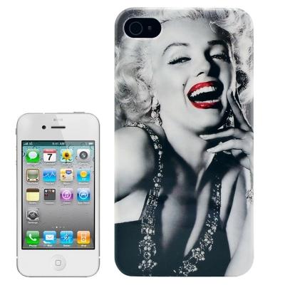 Marilyn Monroe Case iPhone 4/4S - Ochranné púzdro pre iPhone 4 & 4S Smile