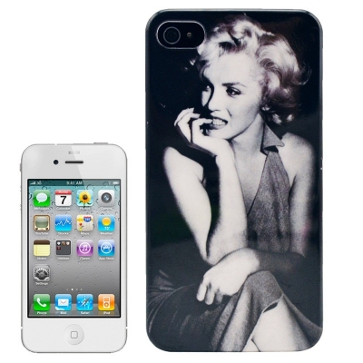 Marilyn Monroe Case iPhone 4/4S - Ochranné púzdro pre iPhone 4 & 4S Pretty Marylin Monroe