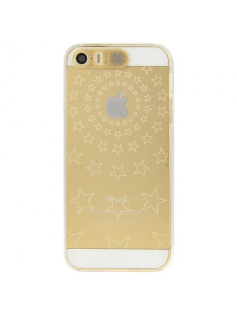 Svetielkujúci kryt pre iPhone 5 & 5S - svetielkujúce hviezdy