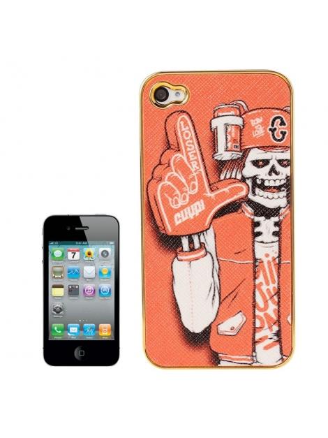 Skull Series iPhone 4 & 4S - Ochranný kryt pre iPhone 4/4S Skull Hipster