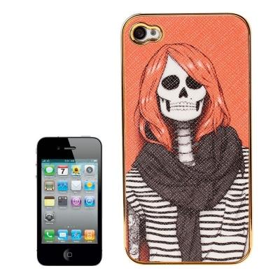 Skull Series iPhone 4 & 4S - Ochranný kryt pre iPhone 4/4S Skull Lady