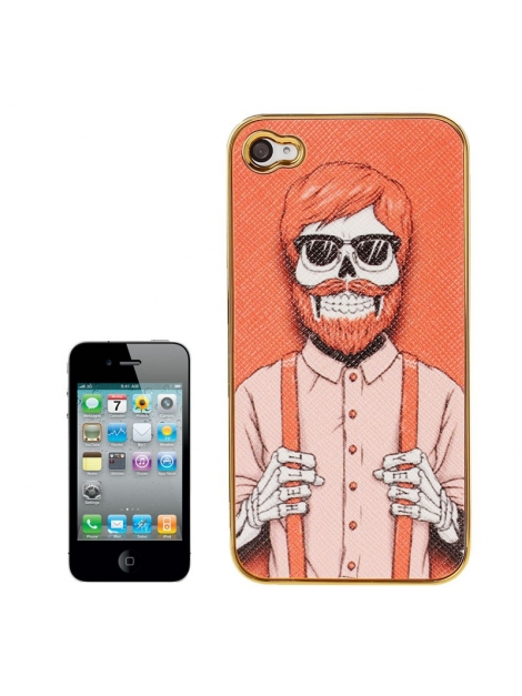 Skull Series iPhone 4 & 4S - Ochranný kryt pre iPhone 4/4S Skull Man