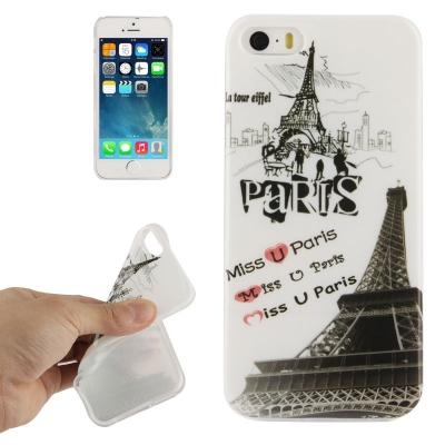 Štýlový ochranný kryt preiPhone 5 / 5S- Miss U Paris