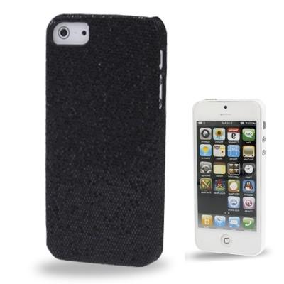 Trblietavý kryt pre iPhone 5 & 5S - black