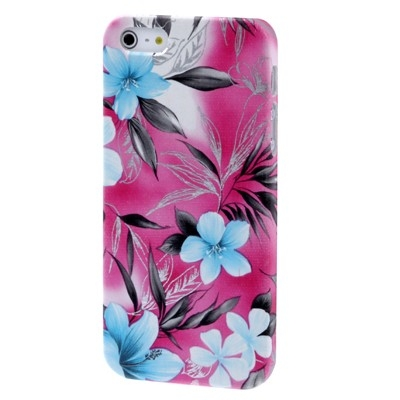 Kryt pre iPhone 5  - flowers pink
