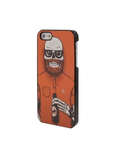 Ochranný kryt pre iPhone 5/5S-  Skull Uncle