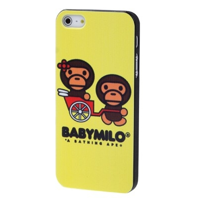 Baby Milo kryt pre iPhone 5 & 5S -a bathing ape