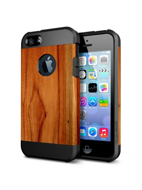 Ochranný kryt pre iPhone 5- wood pattern