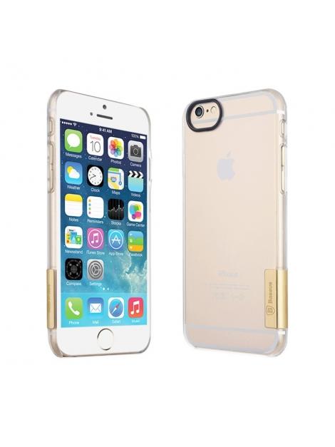Baseus ultra tenký transparentný kryt pre iPhone 6 - gold