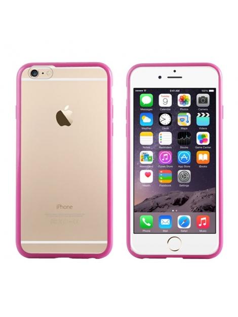 Bumper Case iPhone 6 - Ochranný rám s krytom pre iPhone 6 ružový