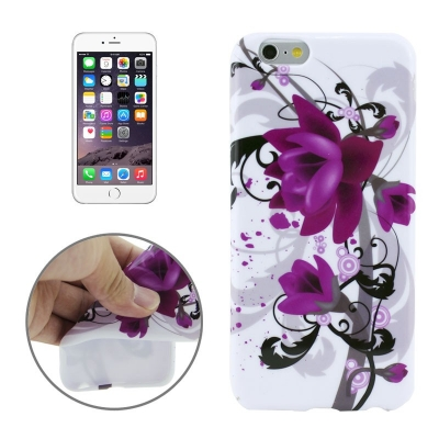 Ochranný kryt pre iPhone 6 - purple flowers