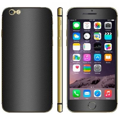 Karbónová fólia pre iPhone 6 Plus - various colours