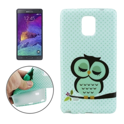 Ochranný kryt pre Samsung Galaxy Note 4 - sleeping owls