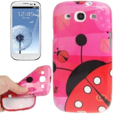 Ochranný kryt pre Samsung Galaxy SIII- Ladybird